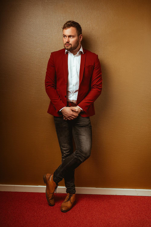 Gerrit utopia rood jasje